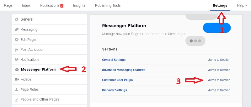 Cara Pasang Live Chat facebook messnager di wordpress